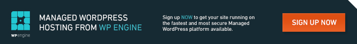 WP Engine Managed WordPress Hosting for your Developer Blog