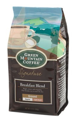 Green Mountain Breakfast Blend ground coffee