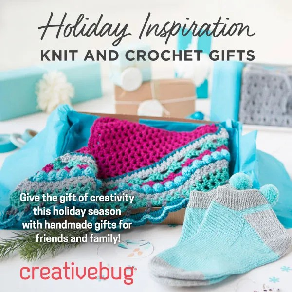 Start your Christmas Gifting with Holiday Inspiration from CreativeBug