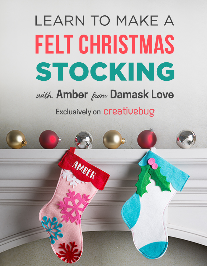 Cricut Crafts: Felt Christmas Stocking – Find A Way by JWP