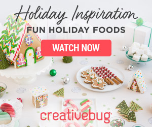 Creativebug Holiday Inspiration