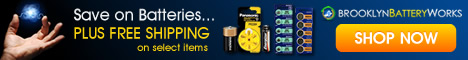 Free Shipping Offers From Brooklyn Battery Works