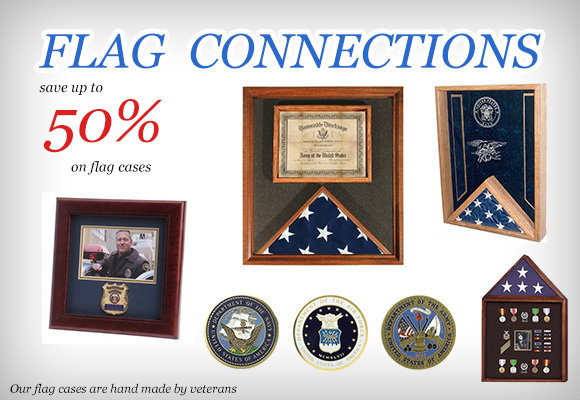 Flag Display Cases by Flag Connections