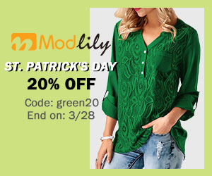 St. Patrick's Day 20% Off  Code: green20 End on: 3/28