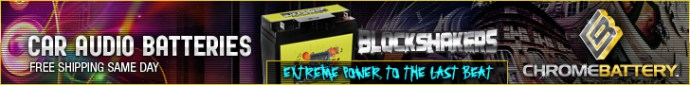 Block Shakers- Car Audio Batteries