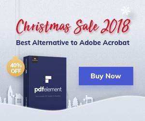 Wondershare PDFelement Christmas Crazy Sale