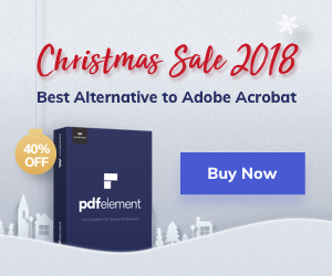 Wondershare PDFelement Christmas Crazy Sale