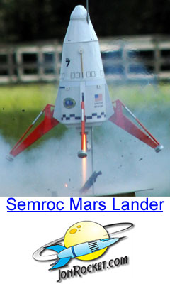Semroc Mars Lander Model Rocket Kit