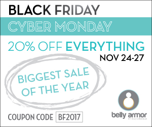 Take 20% Off All Belly Armor Items From Black Friday Through Cyber Monday