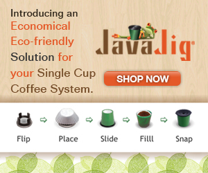 Javajig Replacement Filter for K-Cup and Premium Coffee