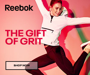 Give the gift of grit this holiday at Reebok!