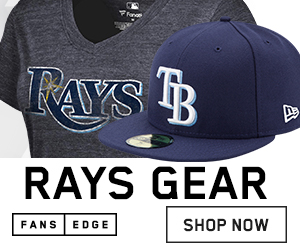 Shop Tampa Bay Rays Gear at FansEdge