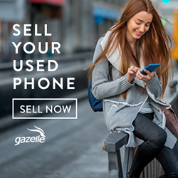 Sell your old stuff with Gazelle