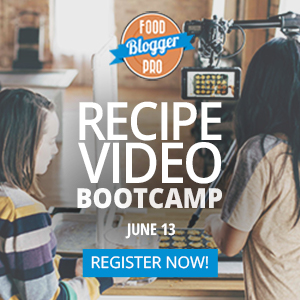 Recipe Video Bootcamp