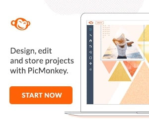 Design, edit and store projects with PicMonkey