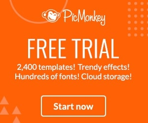 Get a 7-day Free Trial at PicMonkey