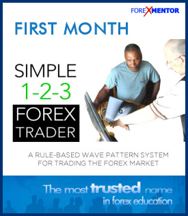 Simple 1-2-3 Forex Trader First Month Subscription