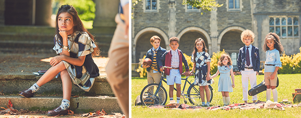School days, fashions for girls and boys, back to school fashions