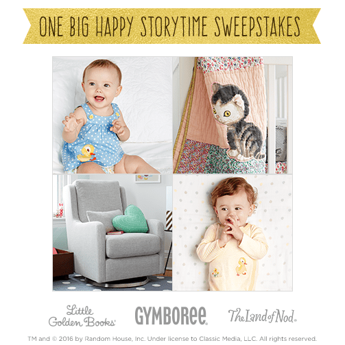 Enter to Win the Little Golden Books Sweepstakes at Gymboree!