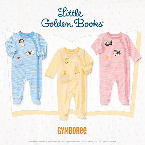 Shop the Little Golden Books Collection at Gymboree!