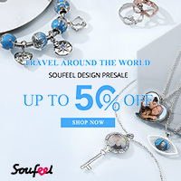 Travel around the world - with a Design Pre-Sale! Save up to 50% off at Soufeel.com.au Ends 09/15