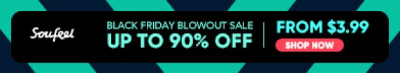 Black Friday Blowout Sale! Up To 90% Off & Start From $3.99 at Soufeel.com! $20 OFF Orders of $150+ CODE: BLACK20  Offer Ends 11/26!
