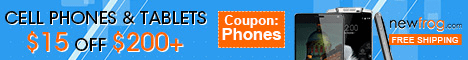 Cell Phones & Tablets: $15 Off $200+