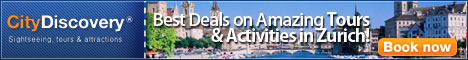 Sightseeing, Tours, Attractions and Things to do in Zurich