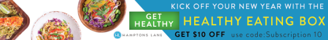 Kick off your new year with Hamptons Lane Healthy Eating box, co-curated with NYTimes bestseller author David Zinczenko