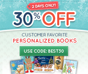 300x250; 12/2 30% Off Bestselling Personalized Books