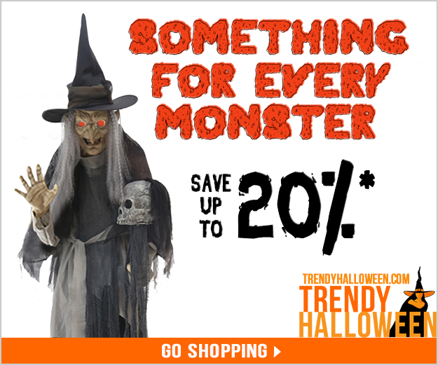 Halloween Sale! Save up to 20% storewide.