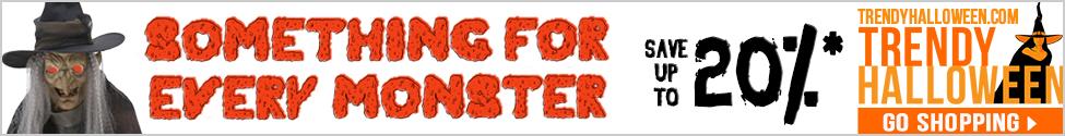 Halloween Sale! Save up to 20% storewide.