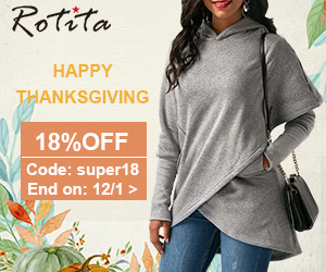 Happy Thanksgiving 18% Off Code: super18 End on: 12/1