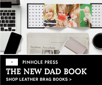 Shop Leather Brag Books from Pinhole Press