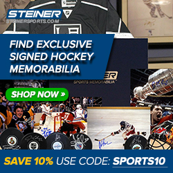 10% Off with code SPORTS10 at SteinerSports.com
