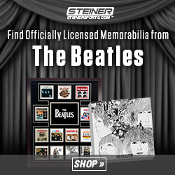 Find Exclusive Memorabilia from The Beatles at SteinerSports.com