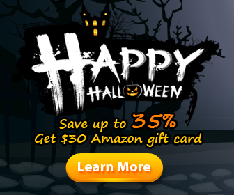 Halloween Special Offers - Save up to 35%