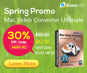 Aiseesoft Video Converter Ultimate 30% Off