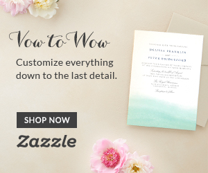Shop Weddings on Zazzle.com