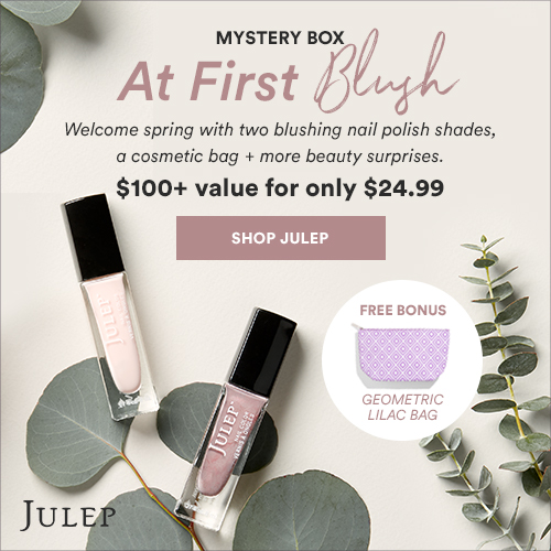 Julep Beauty Box & Polish Subscription + Deals - April 2018 | Spring Mystery Box $100+ value for $24.99