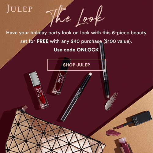 Julep November 2018 Free Gift with $40 Purchase