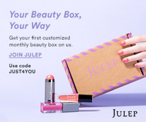 Julep Beauty Box, Your Way. Get your first customized monthly box FREE!