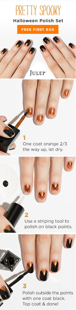 Halloween Nail Design Tutorial