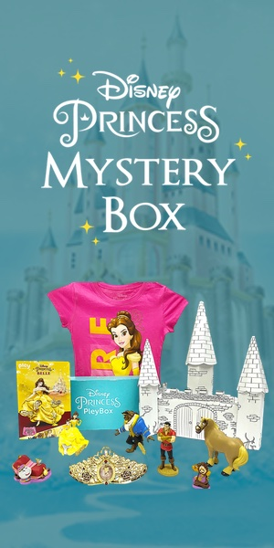 Disney princess, mystery box, subscription box, toys, toy box