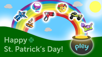 Happy St. Patrick's Day from Pley