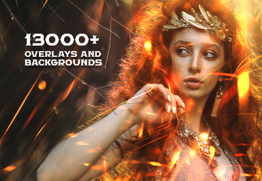 13000+ Overlays & Backgrounds