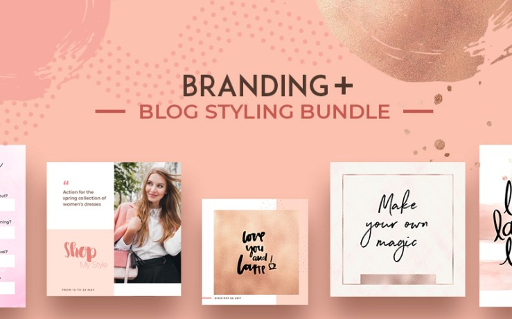 Brand + Blog Styling Bundle