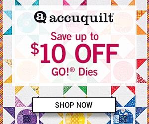 Accuquilt Sale April 2016