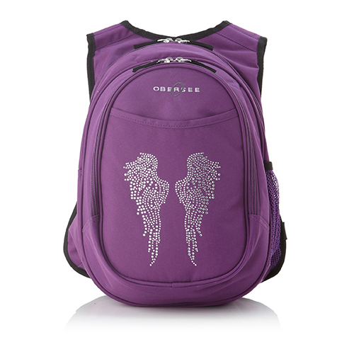 purple backpack for kids