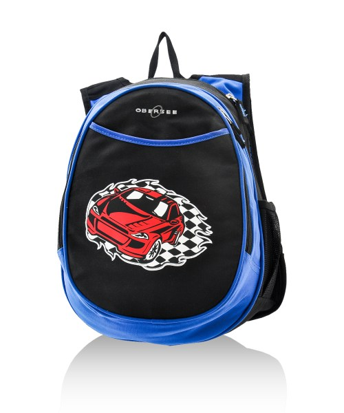 Obersee backpack with racecar